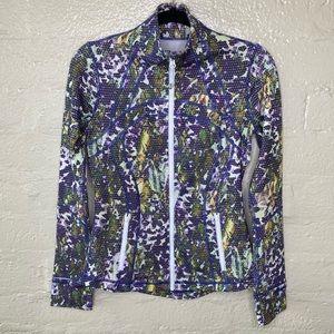 Lululemon Define Jacket Floral White Multi Size 6